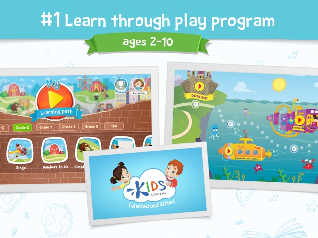 Kids Academy Talented Gifted On The App Store