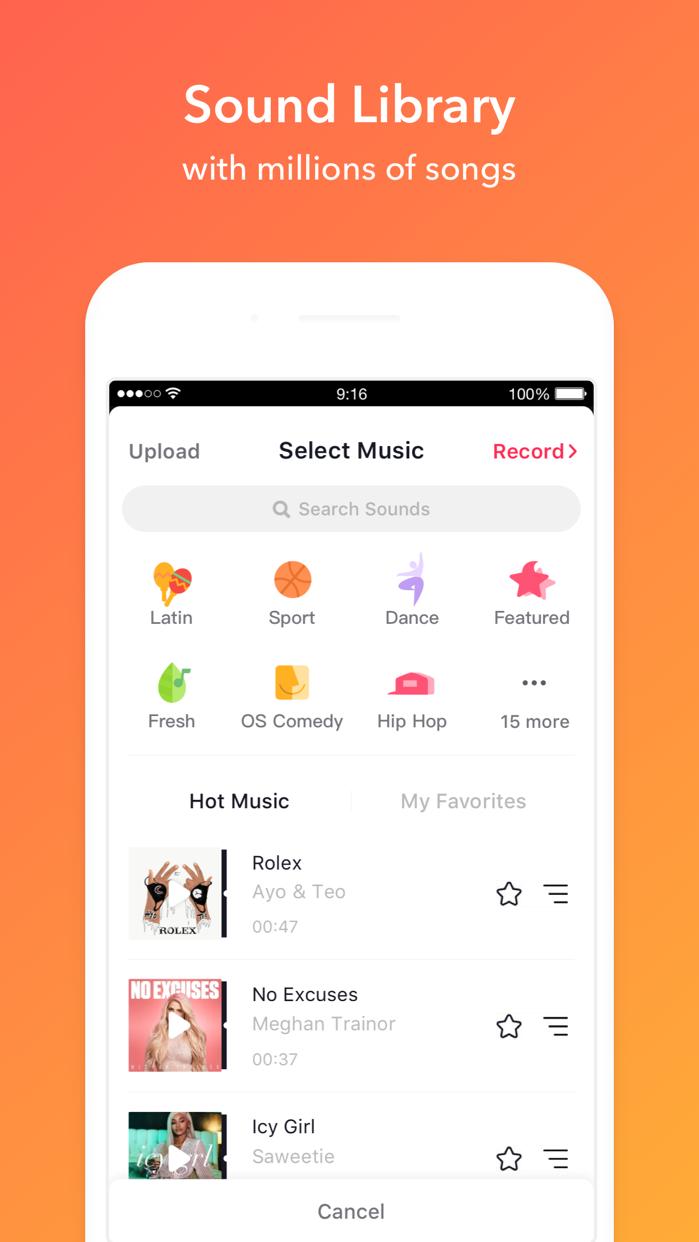 musical.ly Screenshot