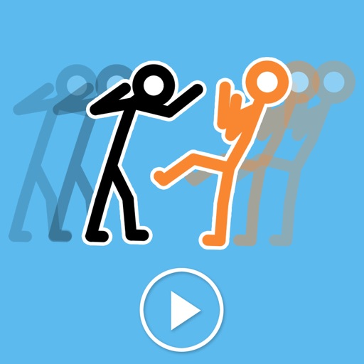 Animated Stick Man Battles icon