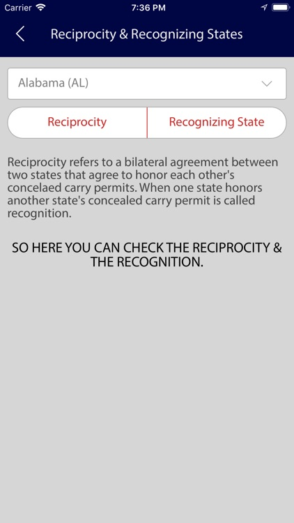 Concealed Carry Laws 50 States screenshot-3