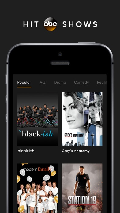 ABC – Live TV & Full Episodes screenshot 1