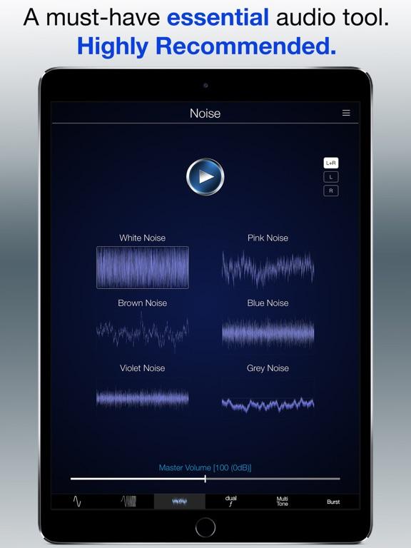 Audio Function Generator PRO Screenshots