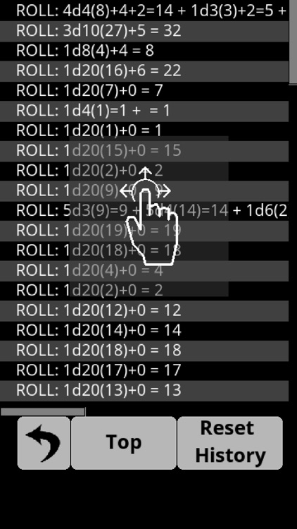 RPG Advanced Dice Roller Lite screenshot-5
