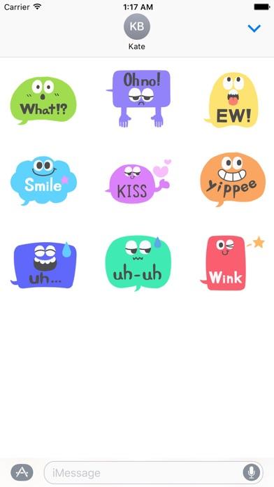 Animated Popular Chat Sticker screenshot 2