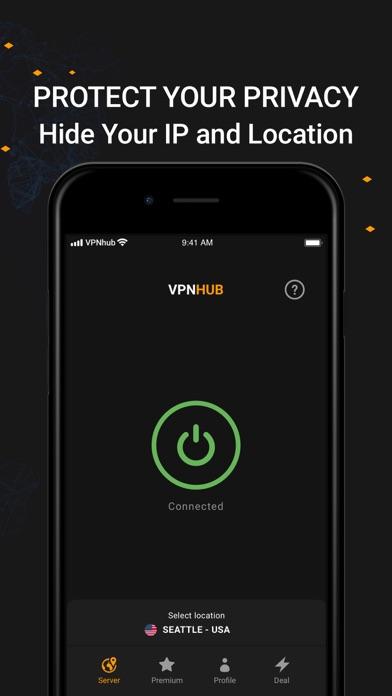 VPNHUB: VPN Illimité et Secure