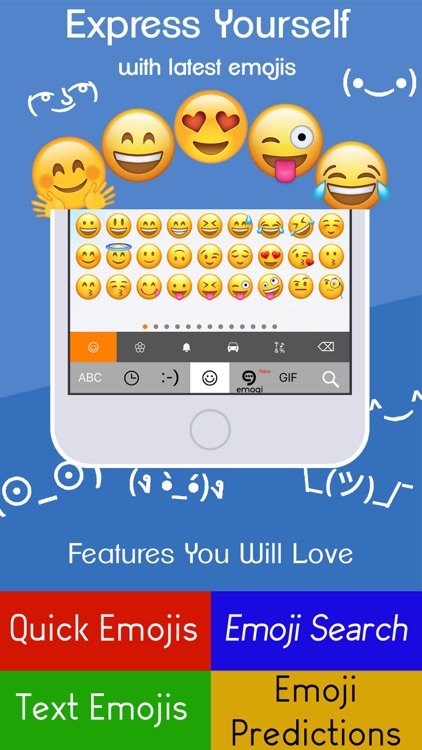 ReBoard Keyboard: Emoji+GIF screenshot-3