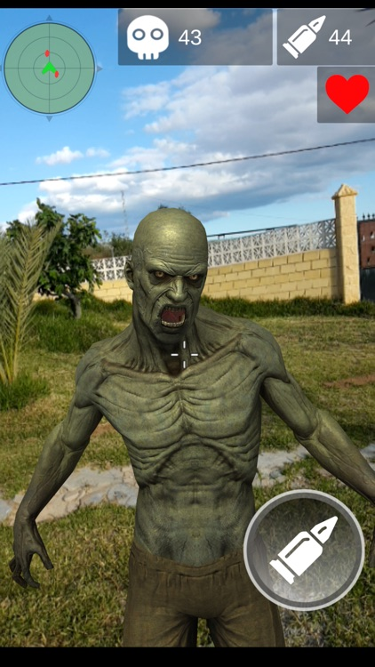 AR Zombie Hunter Survival