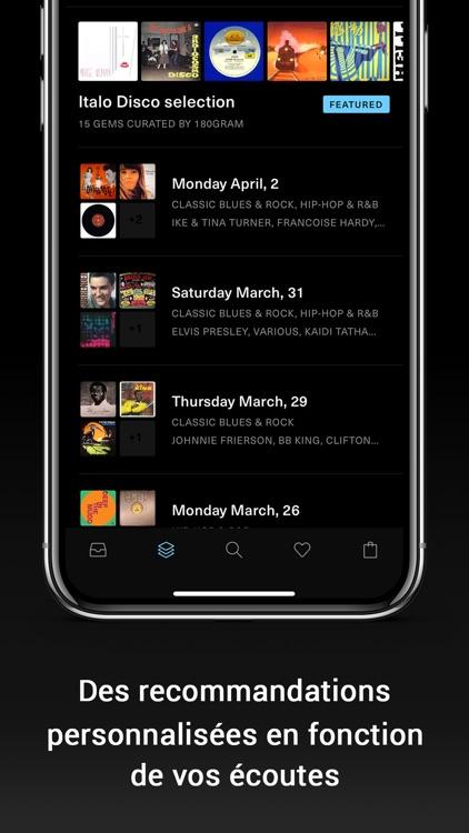 180gram, vinyl diggin app screenshot-3