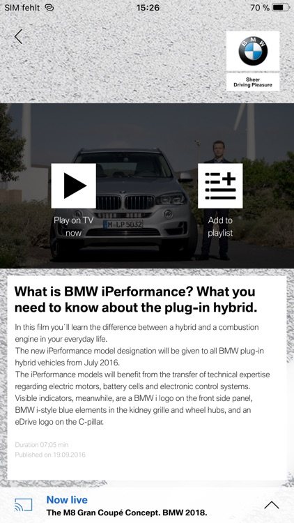 BMW SmartTV screenshot-3