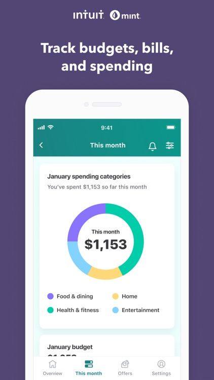 Mint: Budget & Expense Tracker screenshot-0