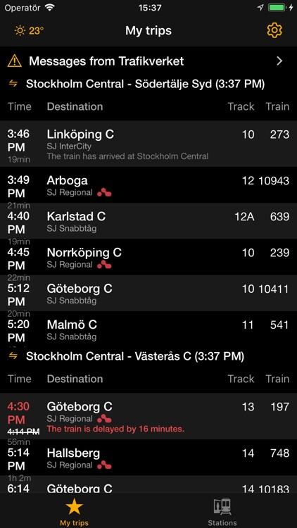 Train check