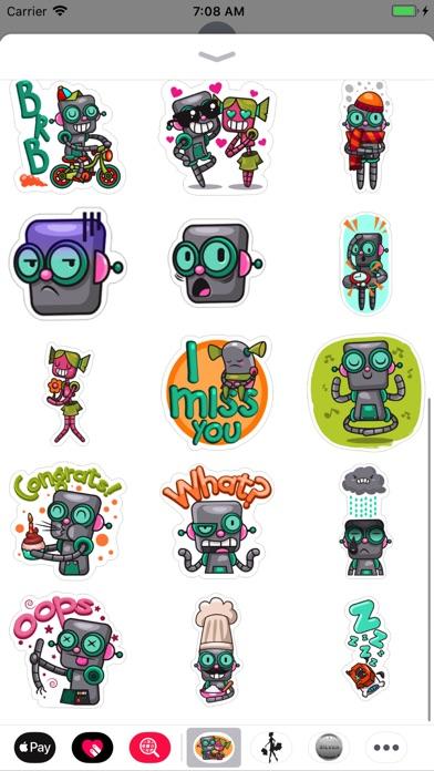 Robot Love Pack screenshot 2