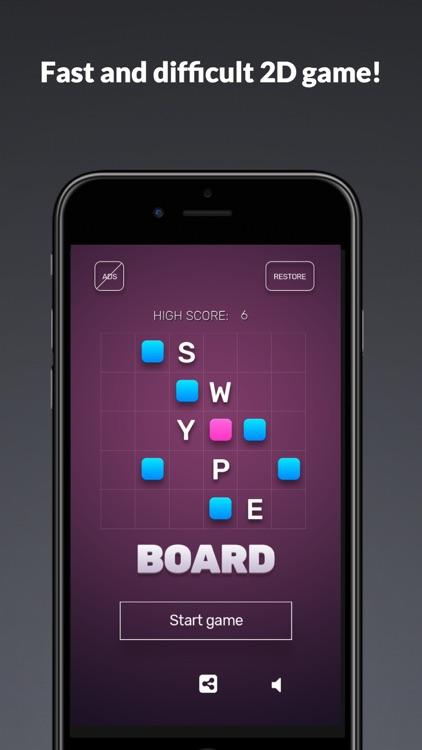 Swype Board