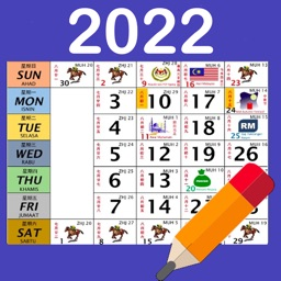 Malaysia Calendar 2021 / 2022