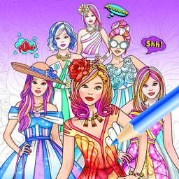 Coloring Book & Dress up Games