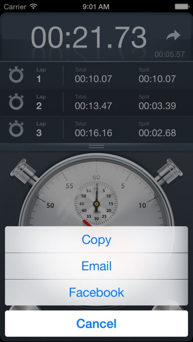 Stopwatch+ for Track & Field Screenshots