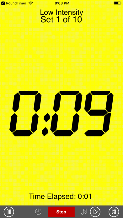 Interval Timer screenshot three