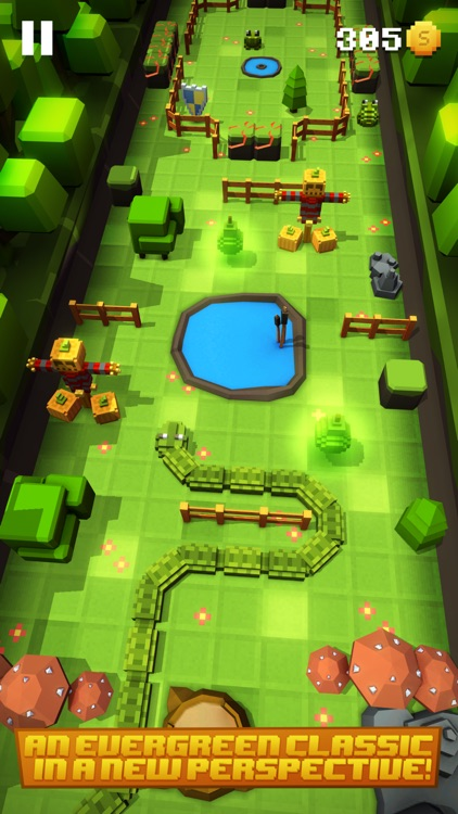 Blocky Snakes screenshot-2