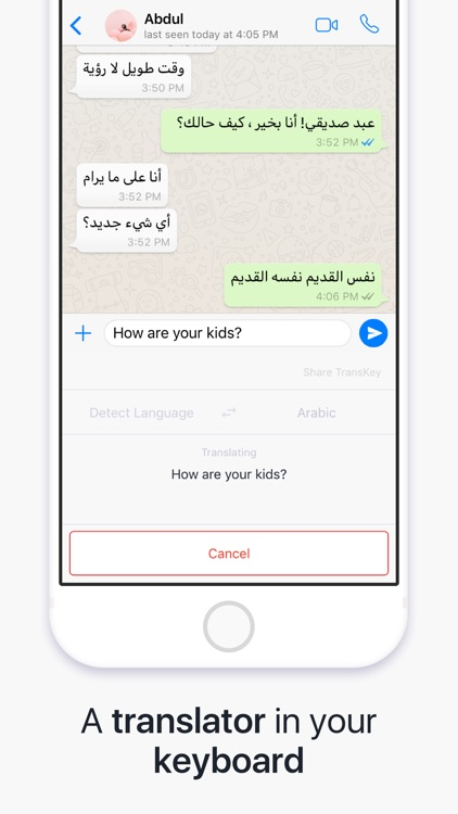 TransKey - Chat Translator screenshot-0