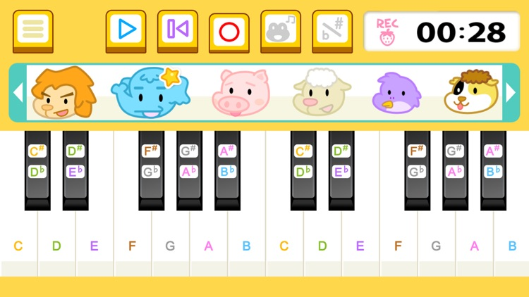 Animal Piano Mix screenshot-4