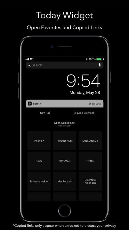 Berry Dark Browser screenshot-6
