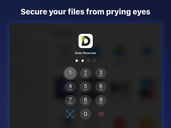 Documents-File,Web Browser,PDF iPad app afbeelding 10