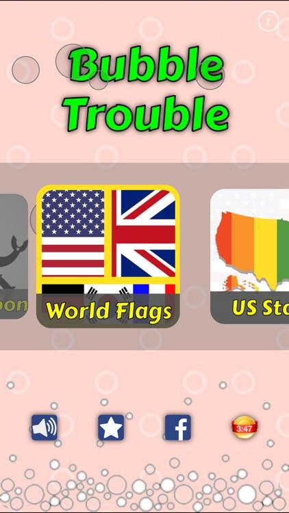 World Flags : Bubbles screenshot-3