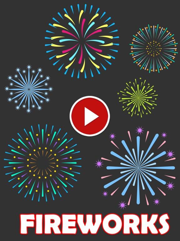 Animated Fireworks Sticker screenshot 2