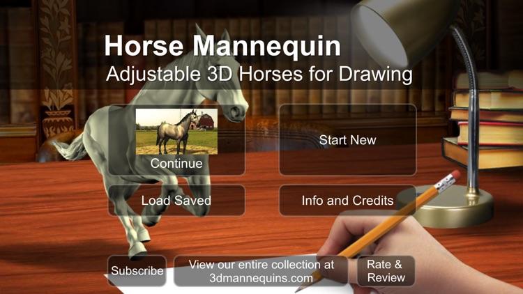 Horse Mannequin