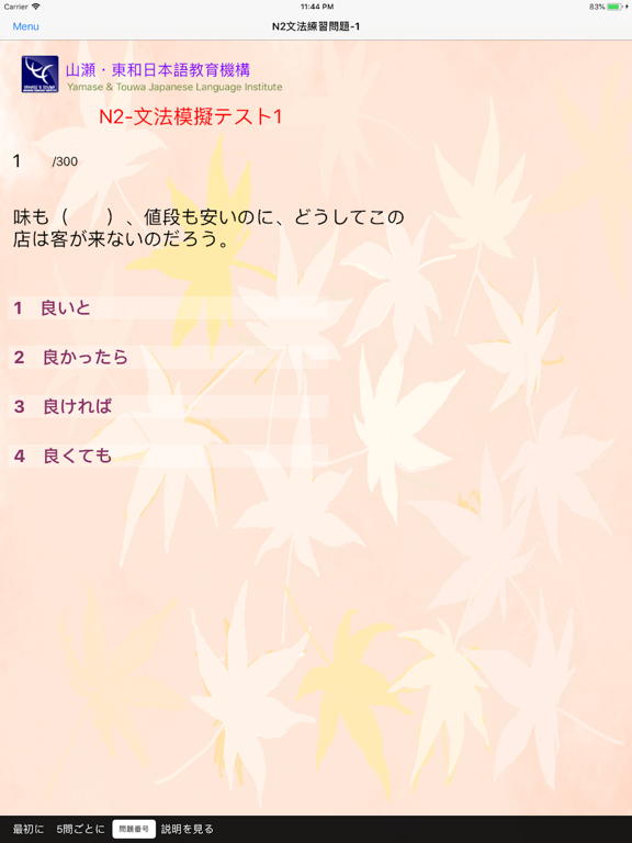 JLPT N2 文法練習 screenshot 12