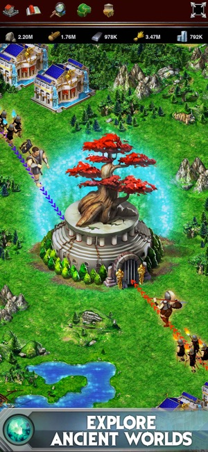 Game of war fire age on the app store screenshots gumiabroncs