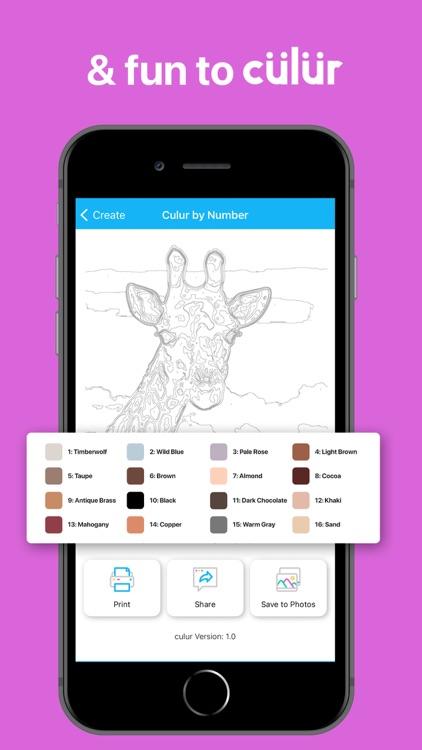 culur: Custom Color by Number screenshot-3
