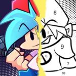 FNF Coloring Arrow Game на пк