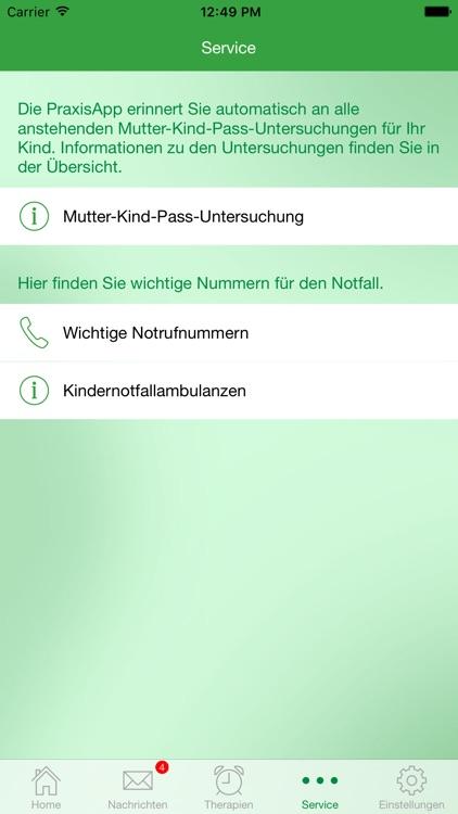 PraxisApp Mein Pädiater screenshot-4