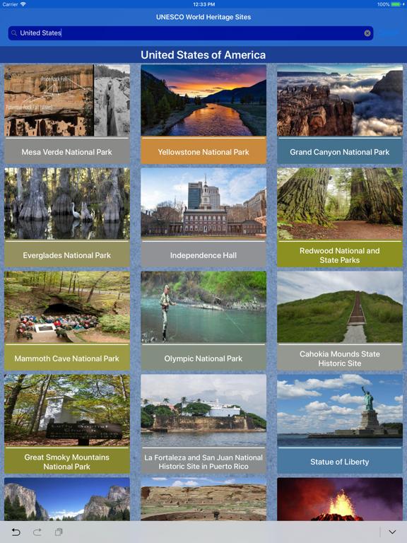 World Heritage Sites - UNESCO-ipad-1