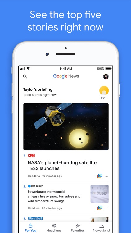 Google News screenshot-0