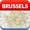 布鲁塞尔离线地图 - 城市 地铁 机场