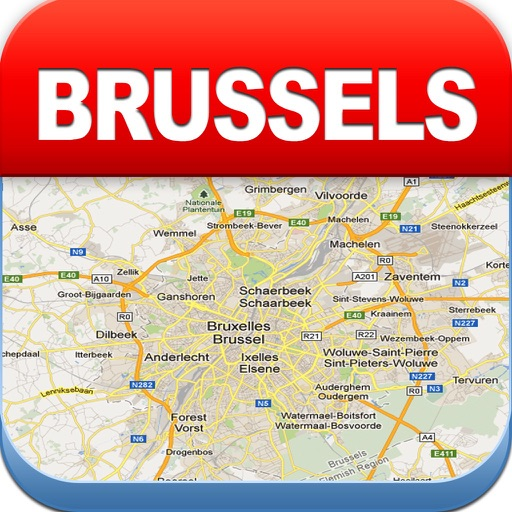 Brussels Offline Map - Metro