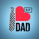 Animated Fathers Day Stickers