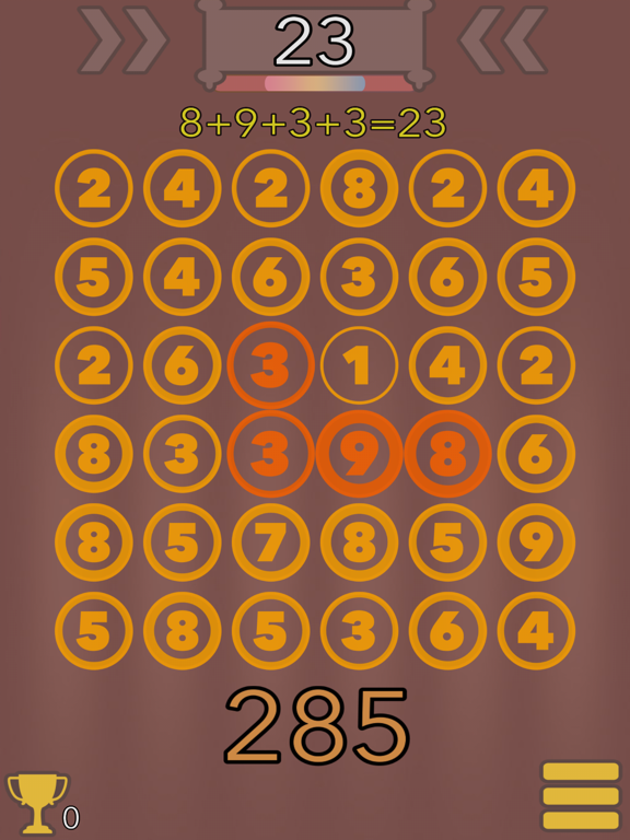 Math pieces screenshot 2