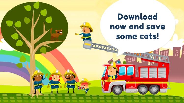 Little Fire Station For Kids screenshot-4