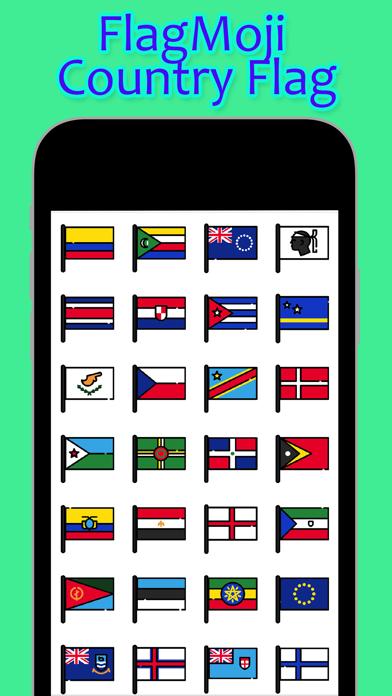 FlagMoji Country Flag screenshot two