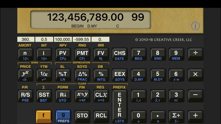 MathU 12D Financial Calculator