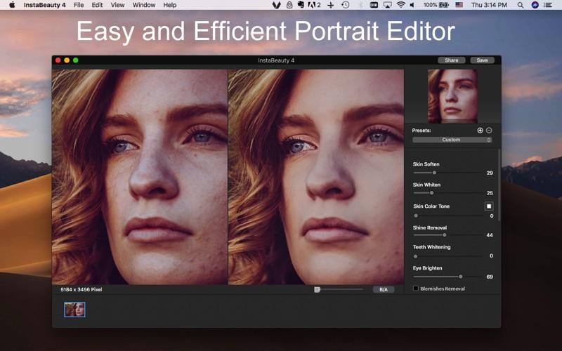 InstaBeauty 4 - Face Retouch screenshot 1