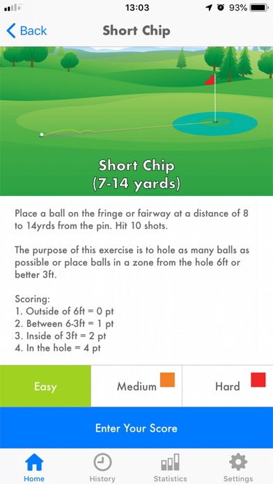 Golf Pro Short Game screenshot #3