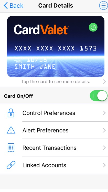 CardValet® screenshot-0
