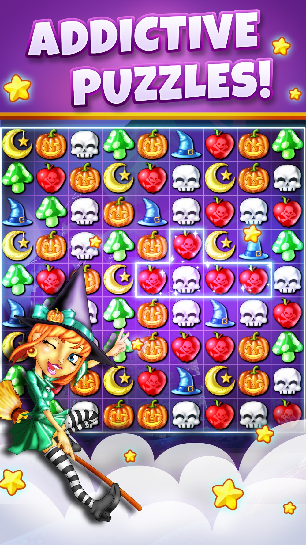 Witch Puzzle – Match 3 Game