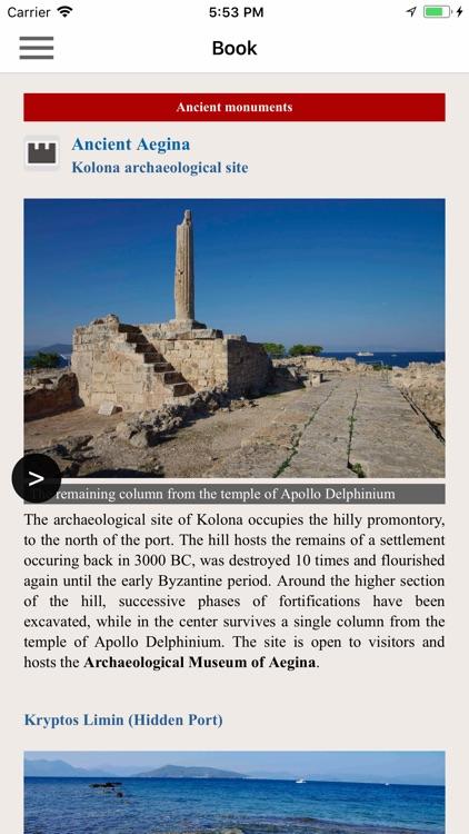 Aegina topoguide screenshot-5