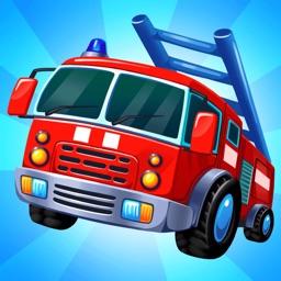 Car games repair truck puzzle