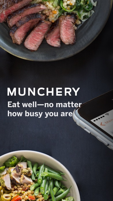 Munchery review screenshots